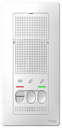 Переговорное устройство (домофон) Schneider Electric Blanca, белый, наружный (BLNDA000011)