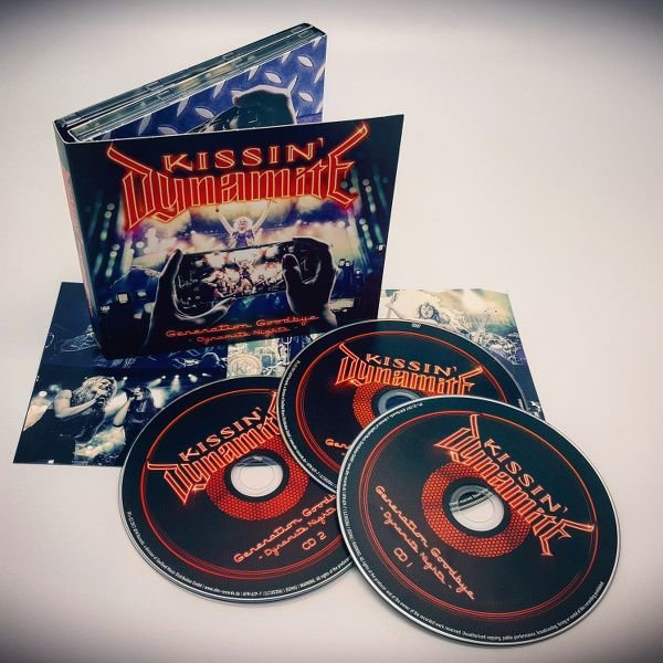 Kissin' Dynamite - Generation Goodbye (Dynamite Nights) 2CD + Blu-ray