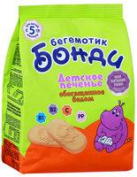 Печенье детское Бонди бегемотик обогащенное йодом с 5 месяцев, 180г