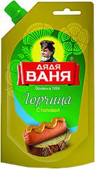 Горчица Дядя Ваня Столовая дой-пак 140г продается по 24 шт.