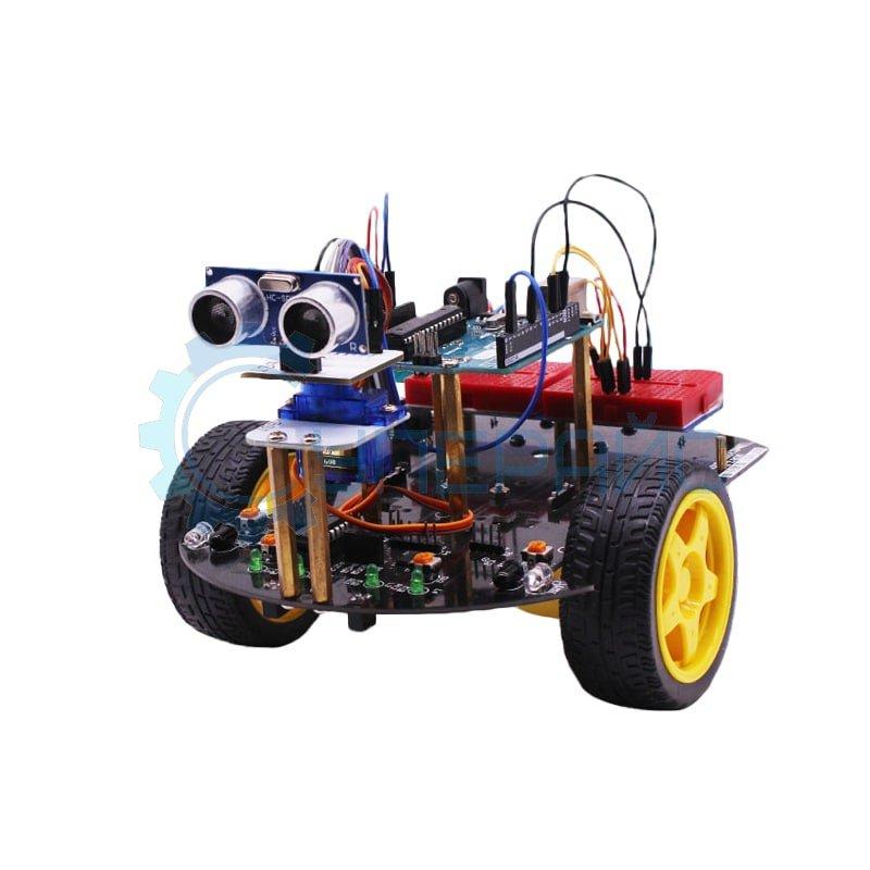 Конструктор для сборки робот-платформы Arduino Robot Car с управлением через Bluetooth