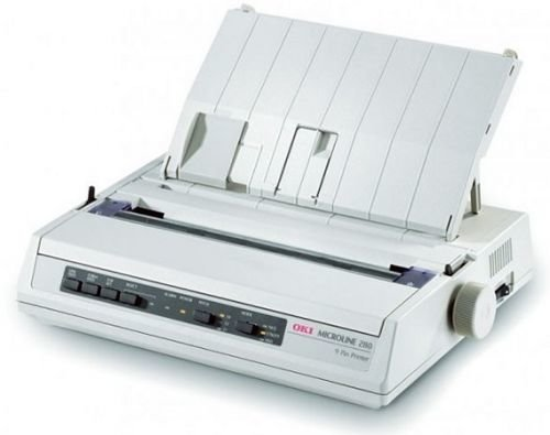 Принтер матричный OKI ML280ECO (PAR) 42590033 9-ти игольчатый, 80 колонок, скорость печати до 375 зн./сек., USB, параллельный интерфэйс
