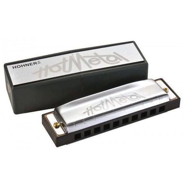HOHNER Hot Metal C (M57201X) - губная гармоника - корпус пластик ABS, крышки из нержавеющей стали.