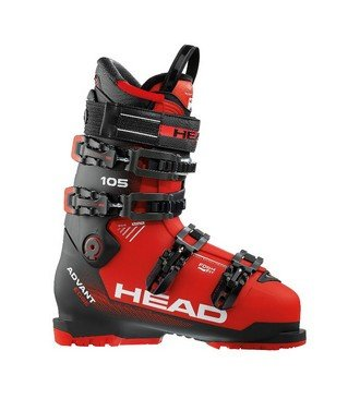 Горнолыжные ботинки Head Advant Edge 105 Black/Red (17/18) (28.5)