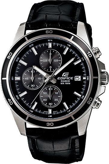 Японские наручные часы Casio Edifice EFR-526L-1A с хронографом