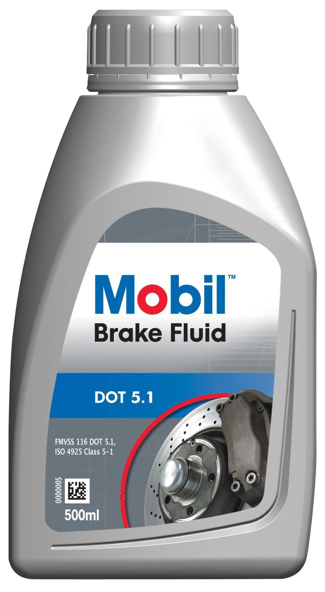 Тормозная жидкость MOBIL Brake Fluid DOT 5.1 0,5л