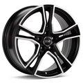 Колесные литые диски Oz Racing ADRENALINA Machined w/Flat Black Accent 8x17 5x120 ET40 D79 Чёрный глянцевый с полированной лицевой частью (W8501420554) - фото 1
