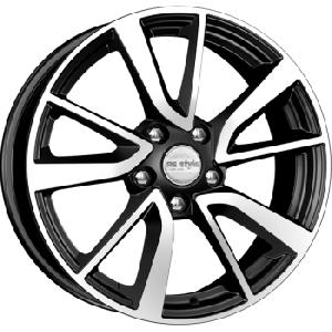 Колесные диски KiK KC699 7x17 PCD 5x114.3 ET 45 ЦО 60.1 цвет: алмаз черный