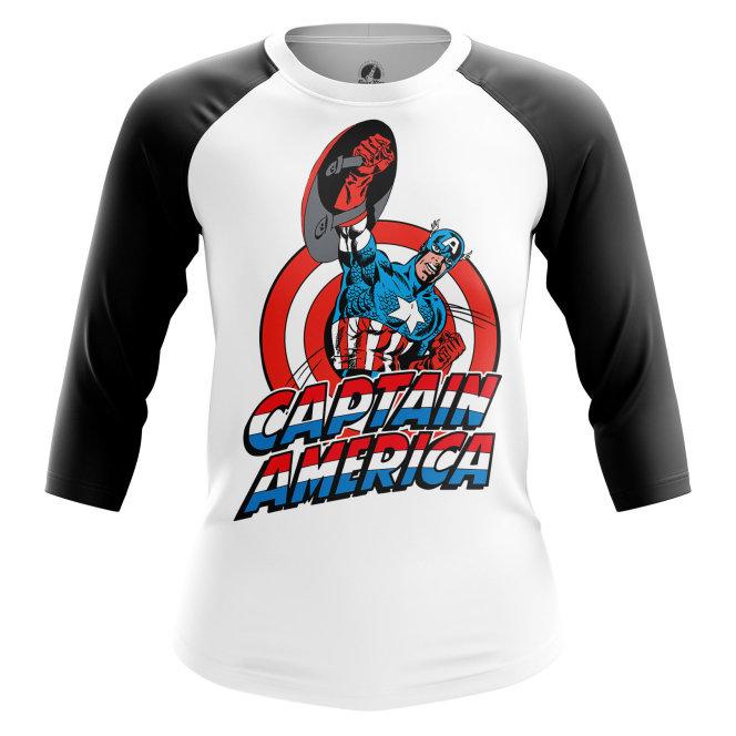 Реглан 3/4 teestore Капитан Америка Капитан Америка Первый