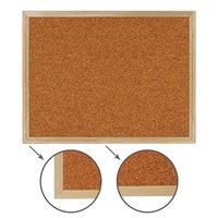 Доска пробковая BRAUBERG 45х60 см, для объявлений, деревянная рама