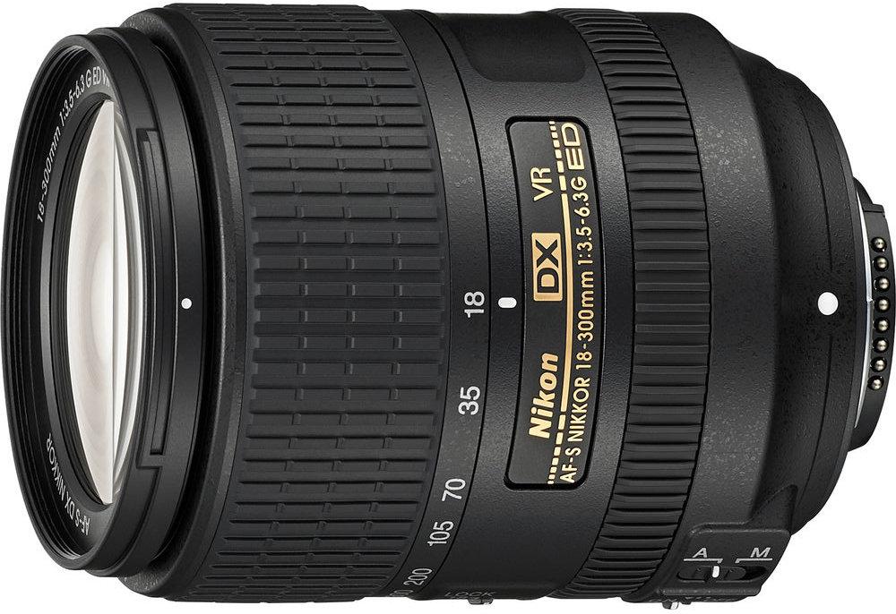 Объектив Nikon AF-S DX NIKKOR 18-300mm F/3.5-6.3G ED VR (черный)