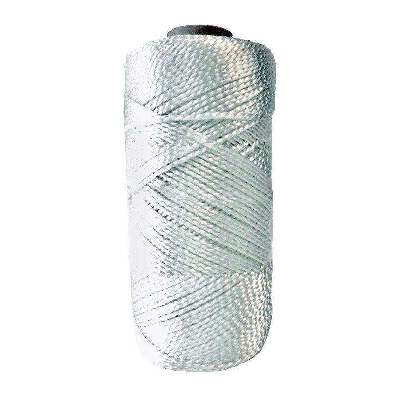 Нить капроновая (полиамидная) крученая 1 мм белая (250 м)