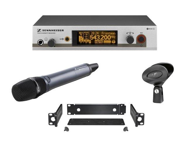 Sennheiser EW 345-G3-B-X - вокальная радиосистема Evolution, UHF (626-668 МГц)