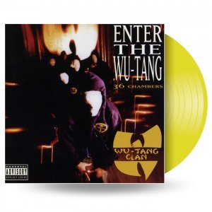 "Wu-Tang Clan ""виниловая пластинка Enter The Wu-Tang Clan (36 Chambers) / Limited Edition (1 LP)"""