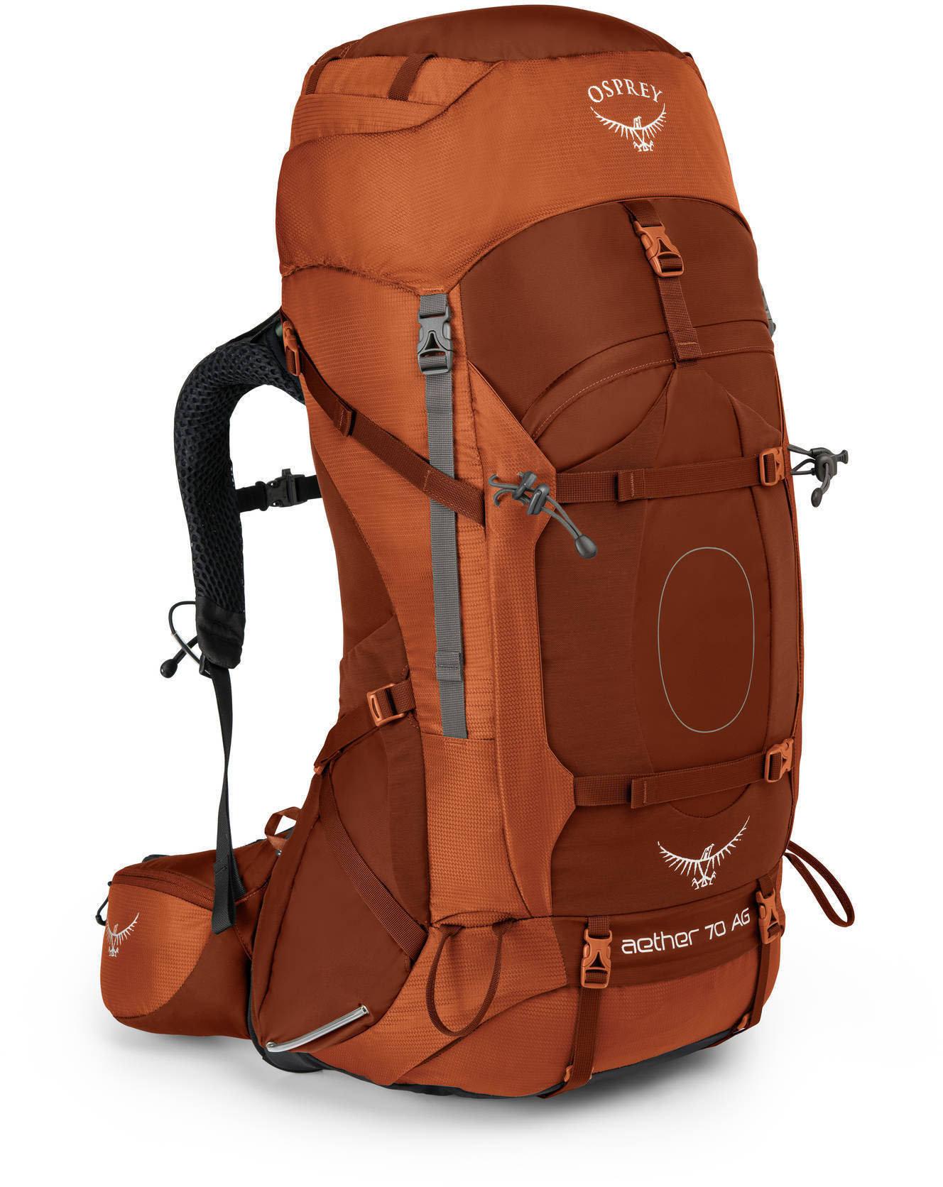 Рюкзак туристический Osprey Aether AG 70 (цвет: Outback Orange)