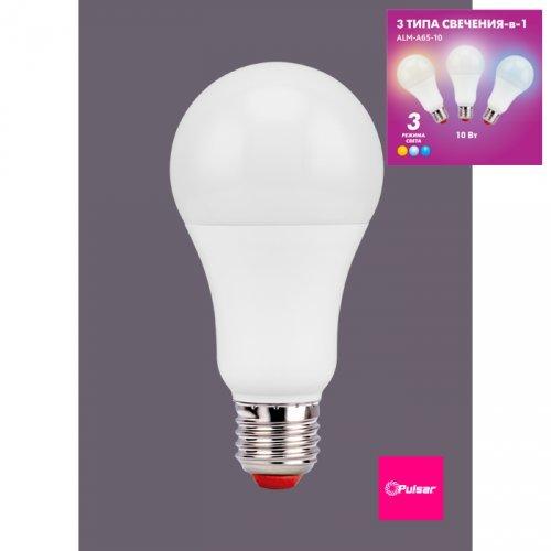 Лампа Pulsar E27 A65 10Вт