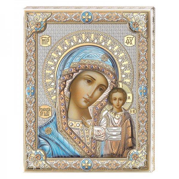 Казанская Икона Божией Матери, Размер 12х16