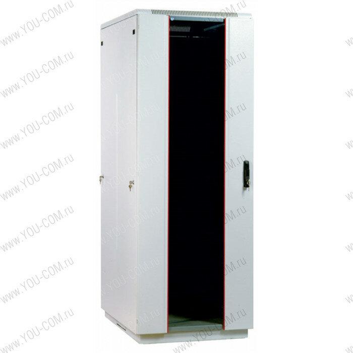 <b>Шкаф</b> <b>телекоммуникационный</b> <b>напольный</b> 42U (800x800) дверь стекло (3 места)