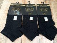 Носки женские из бамбука Ertezza 516 черные 5 пар, размер 35-37 (23)
