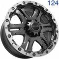 Колесный диск Sakura Wheels 3323 8.0x17/6x139.7 D110.5 ET20 R-BF-LP - фото 1