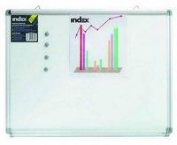 Доска магнитно-маркерная 45х60 см c зажимом EasyGrip INDEX