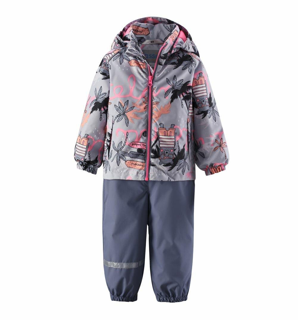 Комплект куртка/брюки Lassie by Reima Ensi, для малышей, размер 80