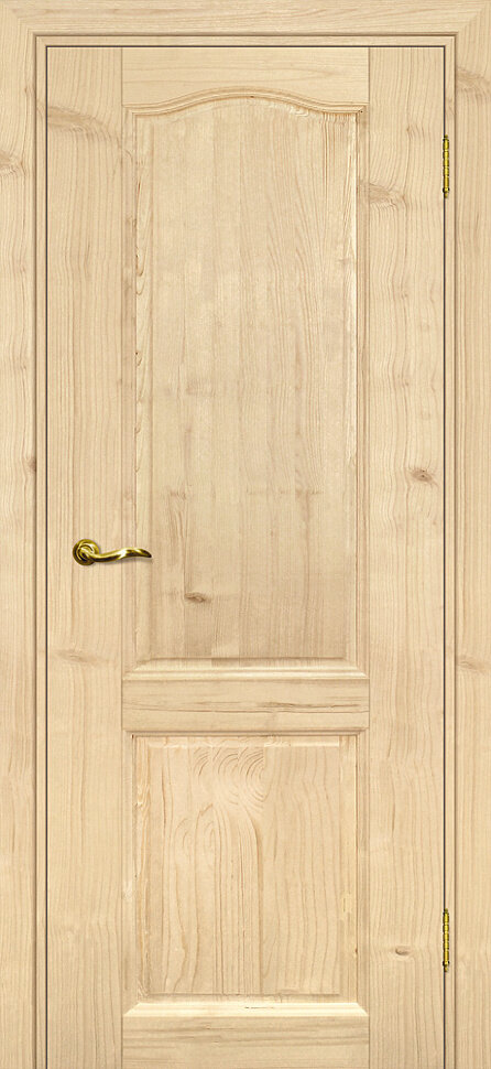 Межкомнатная дверь дверная биржа Дача, Бесцветный, глухая
