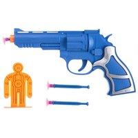 """Набор оружия """"Пистолет с пластмассовыми присосками"""" 21х12 см арт 10-12AB К80125"""