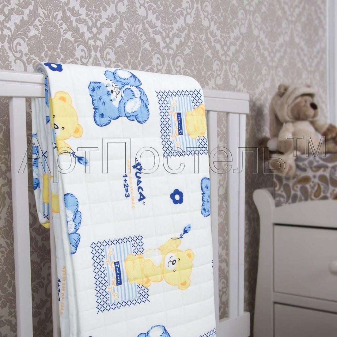 Сластена - одеяло-покрывало детское, размер 140х200, Трикотаж, Артпостель