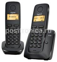 Телефон Gigaset A120 Duo черный