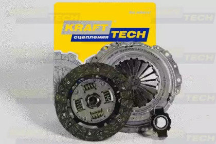 Комплект сцепления lada kalina/priora 1.6 00 Krafttech W05200G