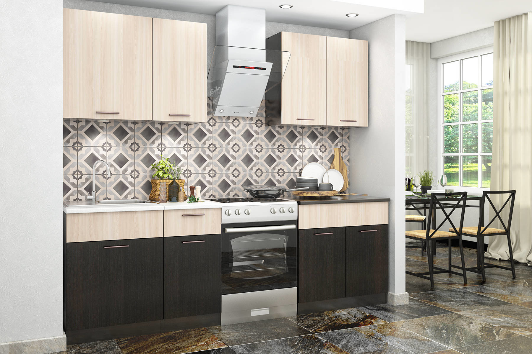 Кухонный гарнитур Дуэт