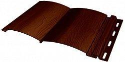 Сайдинг наружный виниловый FineBer Blockhouse extra color Темный дуб