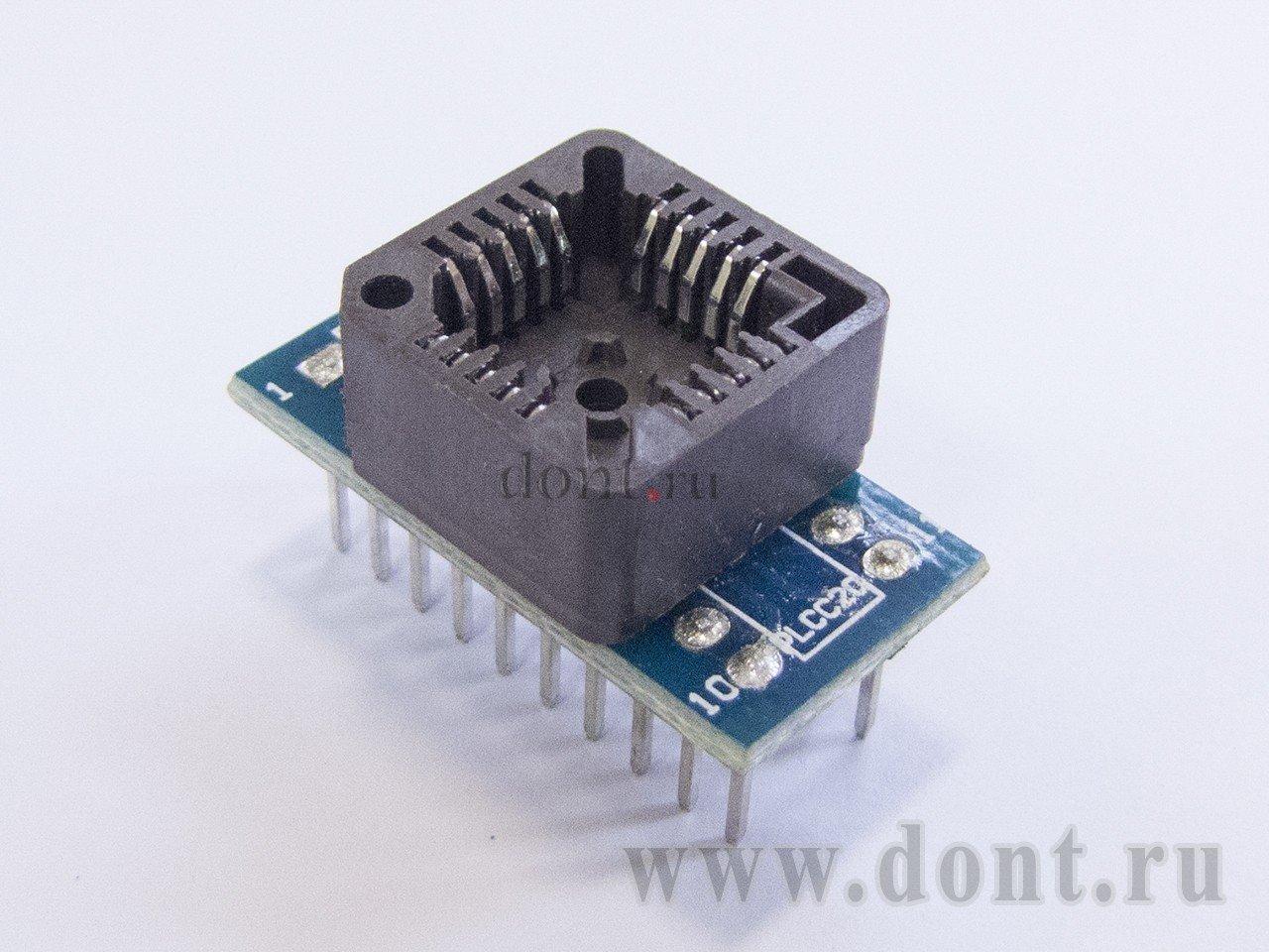 Адаптер PLCC20 - DIP20