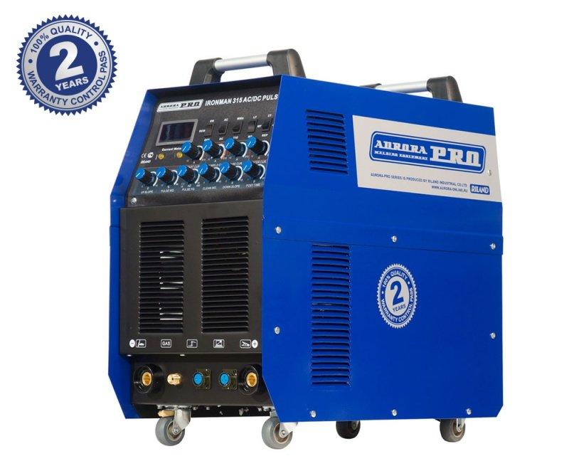 Индустриальный аппарат аргонодуговой сварки PRO IRONMAN 315 AC/DC PULSE (TIG+MMA) AURORA Aurora