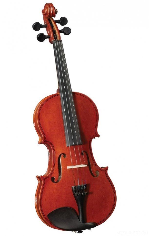 CREMONA HV-100 Novice Violin Outfit 1/4 скрипка. В комплекте легкий кофр, смычок, канифоль
