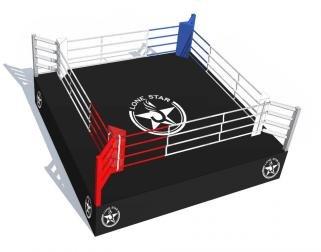 Боксерский ринг LONE STAR профессиональный на помосте