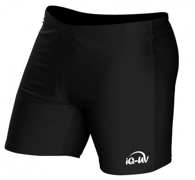 Мужские шорты для плавания iQ Uv 300+ Short Black