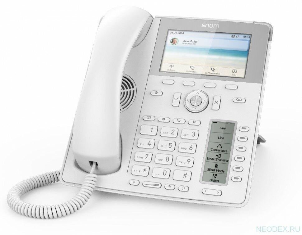 Snom D785 IP-телефон белый для руководителей ( 4392 )