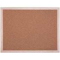 Доска пробковая, 60x45 см, деревянная рамка
