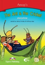 The Ant & the Cricket. DVD Video/DVD-ROM. PAL (DVD Case). DVD видео/DVD-ROM диск