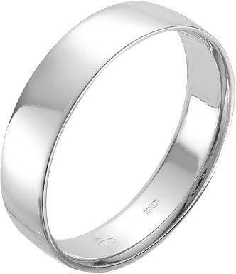 Серебряное обручальное парное кольцо Серебро России 25-5000-0-46428, размер 21,5 мм