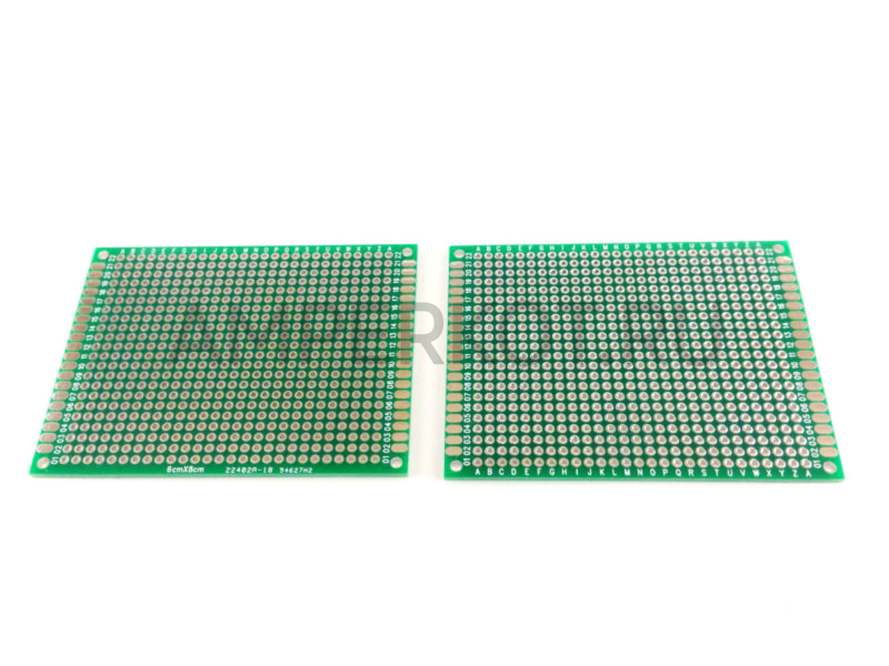 PCB Макетная плата для пайки двусторонняя 7x9см
