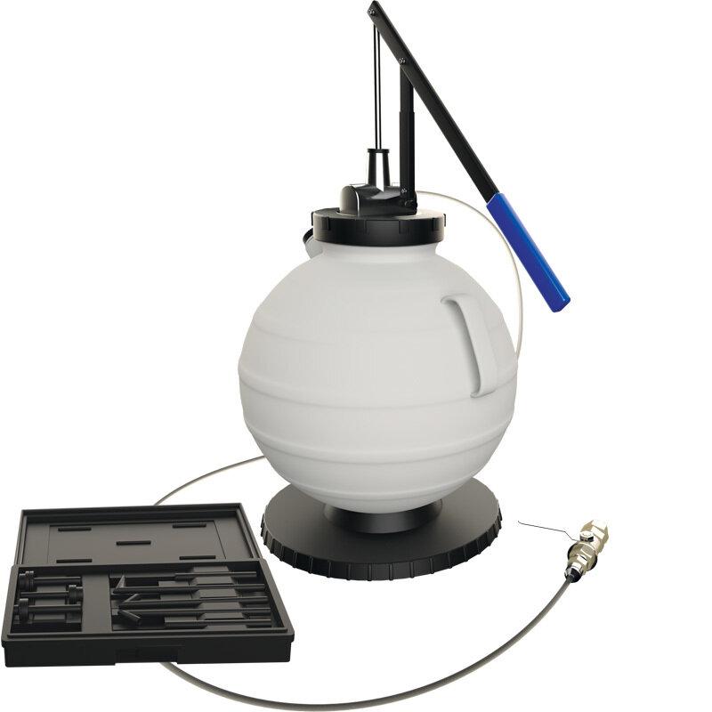 Оборудование для автосервисов Сорокин Установка для замены масла в АКПП с ручным приводом