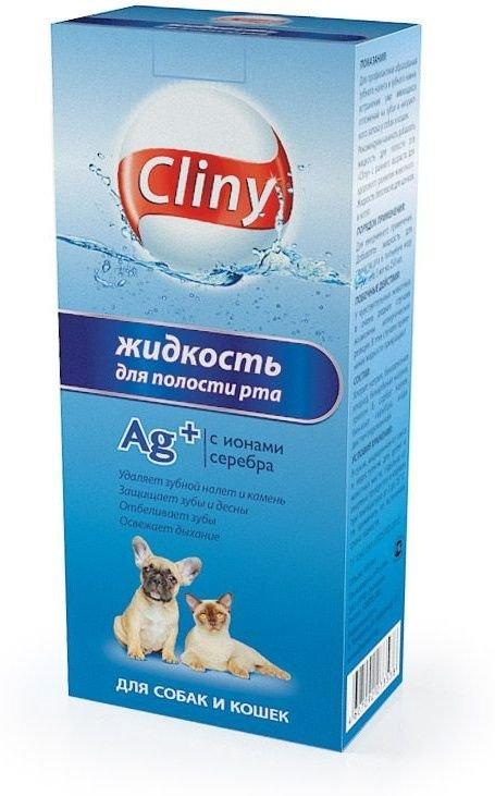 Жидкость для полости рта Cliny для кошек и собак (300 мл)