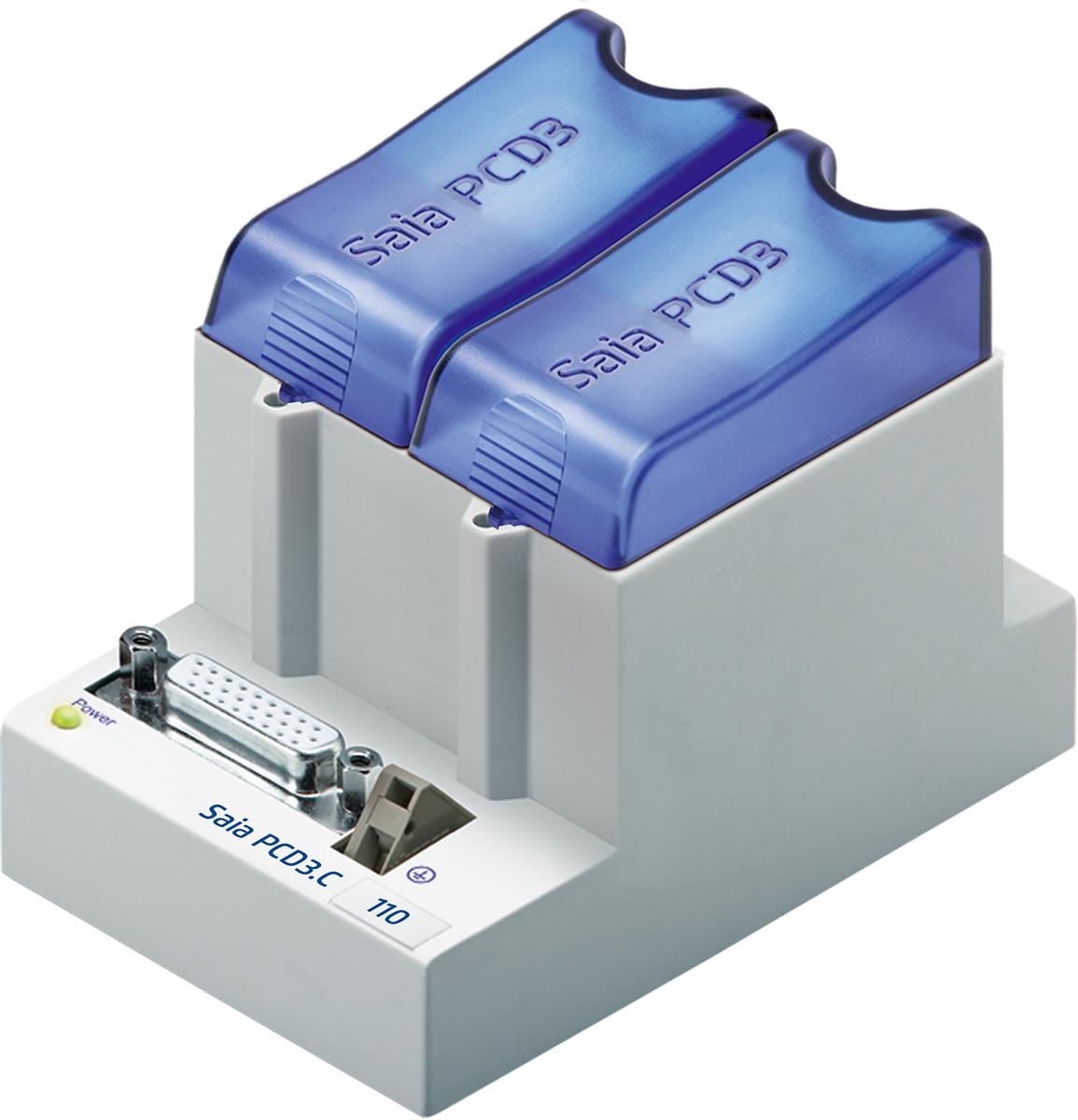 PCD3.C110 Блок расширения каналов ввода/вывода, 2 разъема для модулей корпусного исполнения SAIA BURGESS