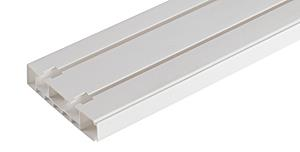 Карниз для штор стандарт 2-х рядный 3,0м