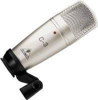 Микрофон студийный конденсаторный BEHRINGER C-3 STUDIO CONDENSER MICROPHONE