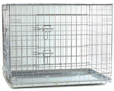 Клетка для собак, стальная, 89x60x66 см