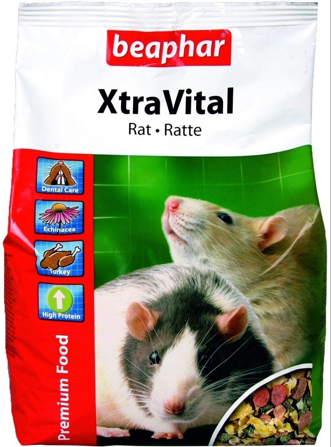 Корм Beaphar XtraVital Rat для крыс (2,5 кг)